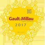 Gault&Millau plaque 2017