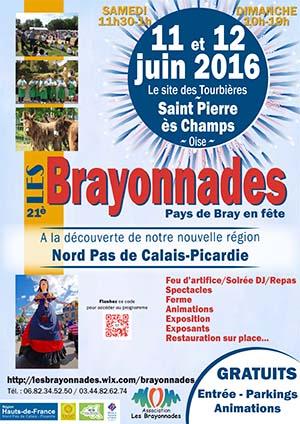 Affiche Brayonnades 2016