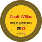 Gault&Millau plaque 2021