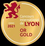 Médaille d'or Lyon 2021