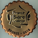 Médaille bronze FBC 2018 relief