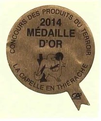 medailledor2014lacapelle